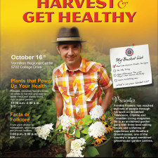 Harvest & Get Healthy October 16, 2014