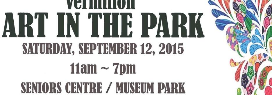 Art in the Park Mock Up Slide Show