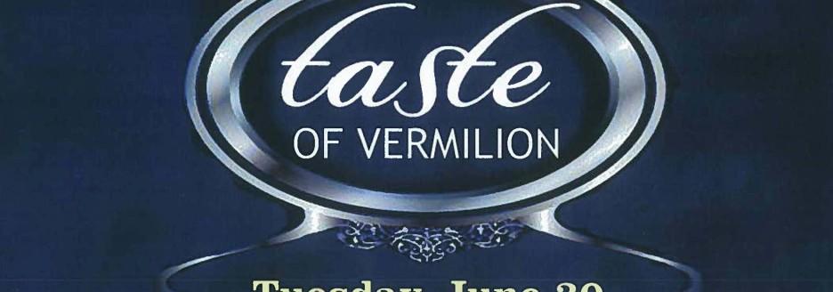 Taste of Vermilion Mockup Slide Show